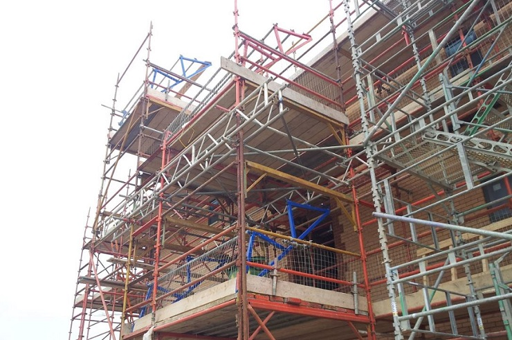 Types of scaffolding and how they are designed