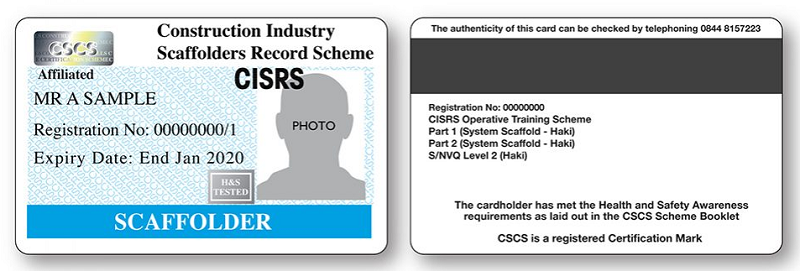 What Is A CISRS Card & How Can I Become A CISRS Cardholder