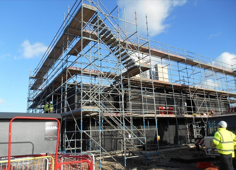 new - How Scaffolding Can Be Used As Temporary Handrails When Working At Height